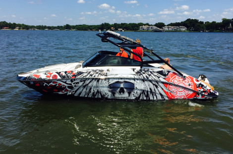 yamaha ar240 boat wraps - Boat Graphics Designs Ideas