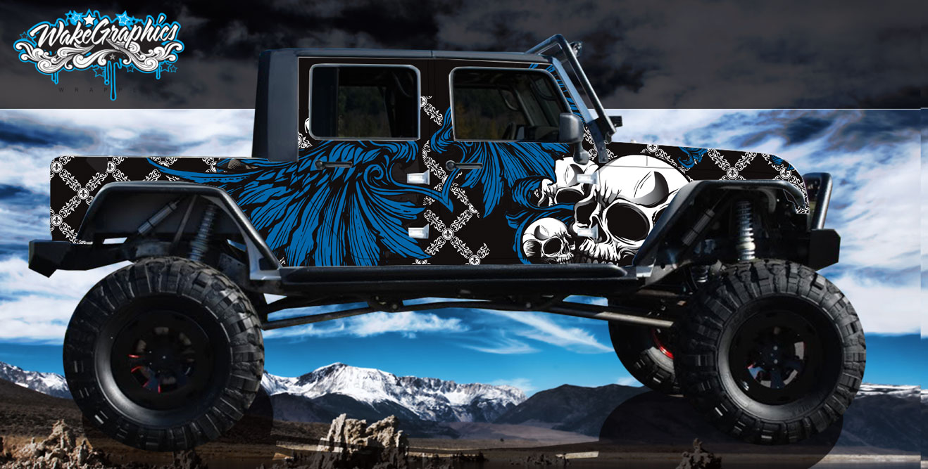 Jeep Wraps Vehicle Wrap Custom 4x4 Jeep Wraps