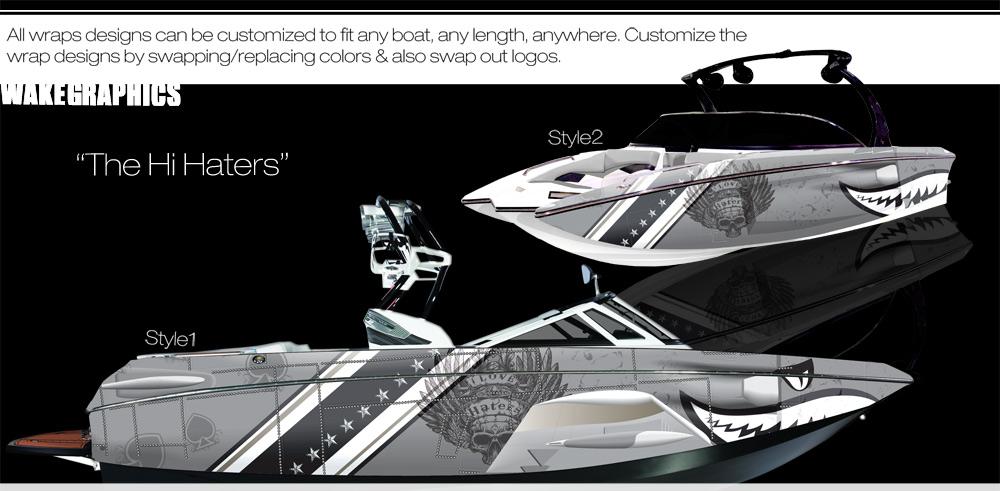 Tig 233 Rz4 Boat Wrap Kits Wake Graphics