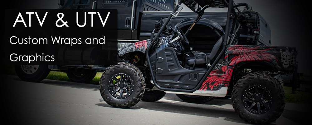 Atv And Utv Wraps Vehicle Wraps