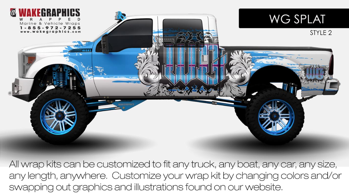 Truck Wraps Kits Vehicle Wraps Wake Graphics - Best automobile graphics and patterns