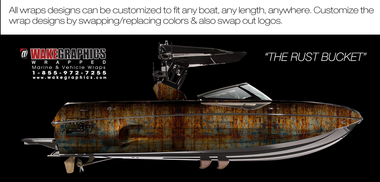 The Rust Bucket | Boat Wrap Kit